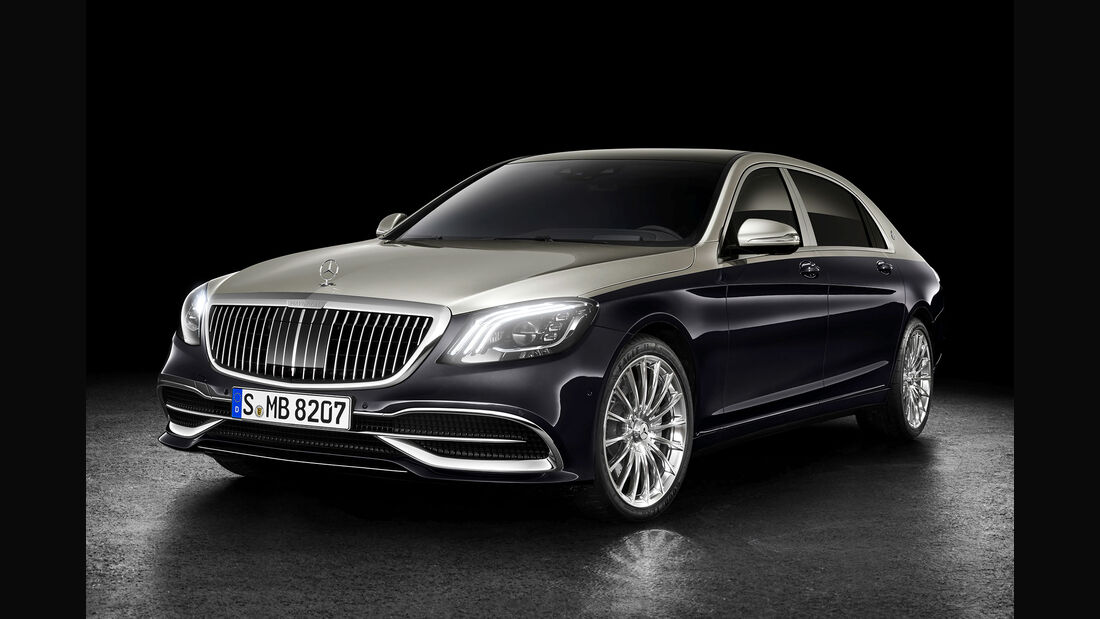 Mercedes-Maybach Facelift 2018