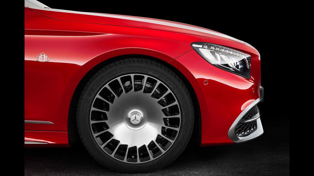 Mercedes-Maybach S 650 Cabrio Sperrfrist 16.11. 05.00 Uhr