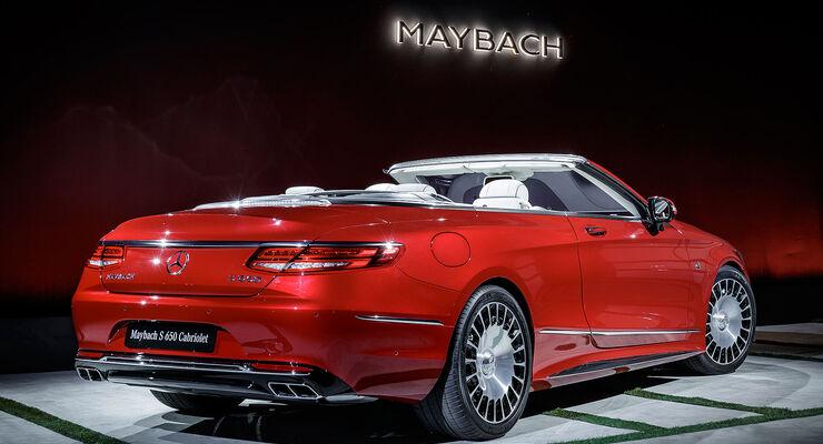mercedes-maybach s 650 cabrio: s-klasse cabrio noch luxuriöser