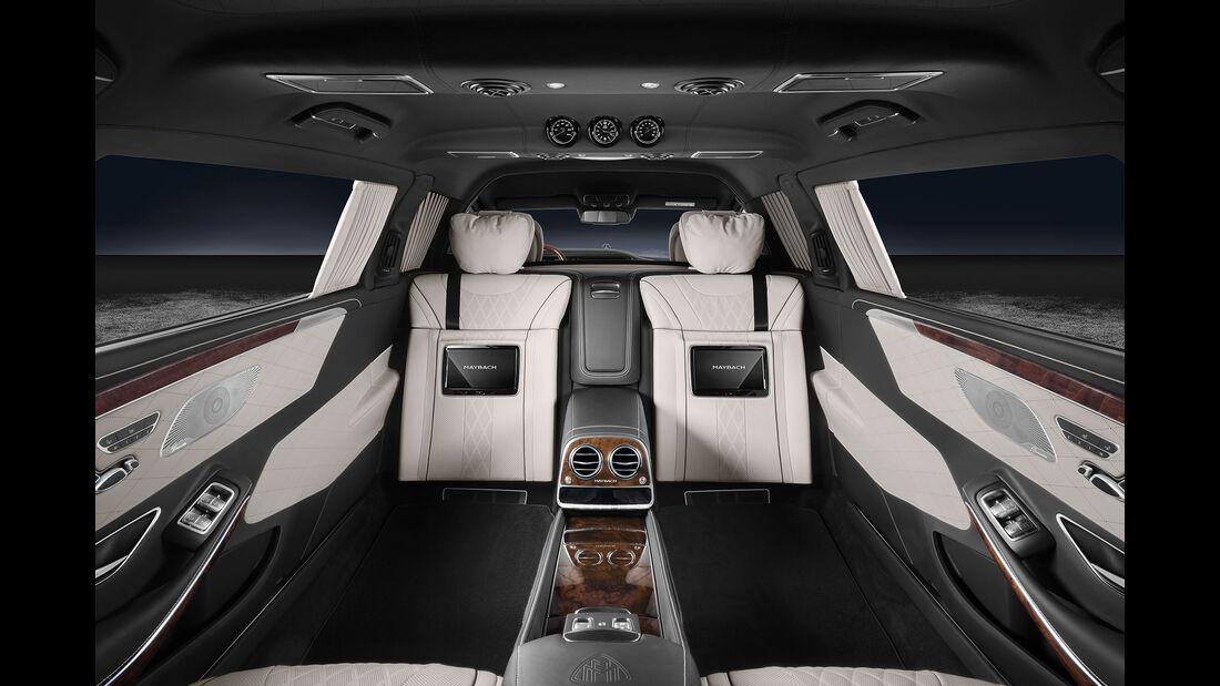 Mercedes-Maybach S600 Pullmann Guard