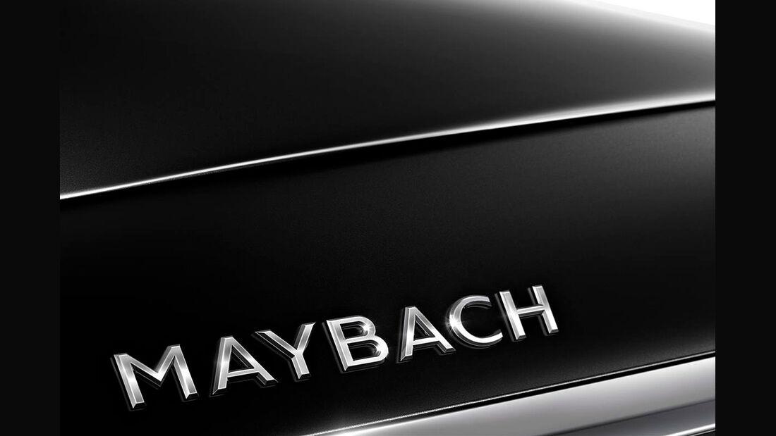 Mercedes-Maybach Schriftzug