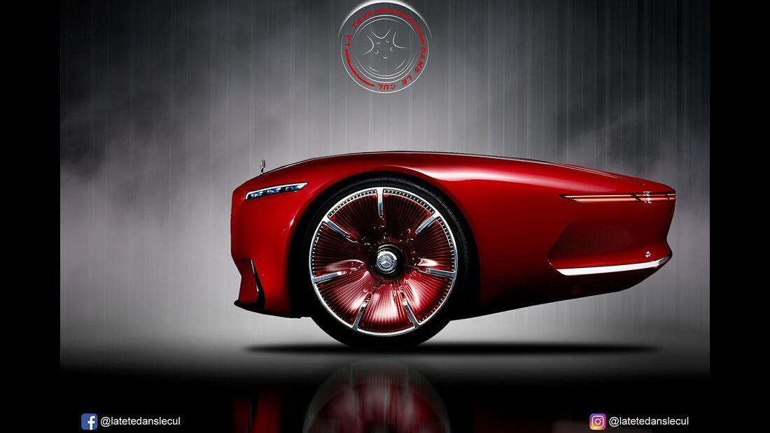 Mercedes-Maybach Vision 6 Concept Retusche