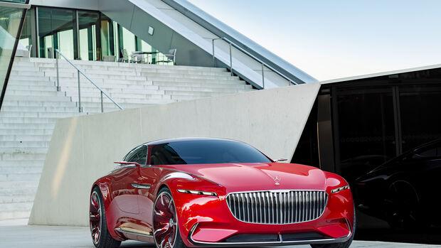 Mercedes-Maybach Vision 6 Coupé