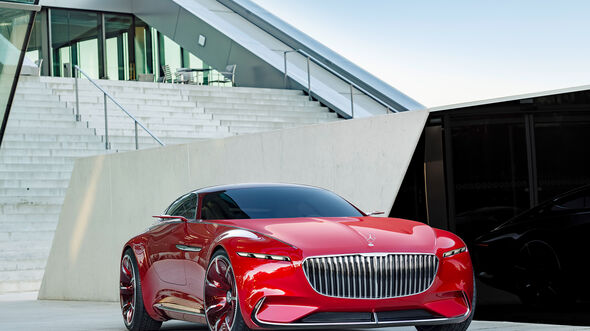 Mercedes-Maybach Vision 6 Coupé
