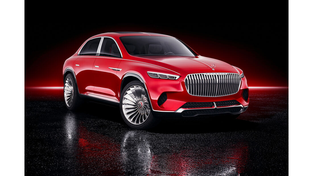 Mercedes-Maybach Vision Luxury