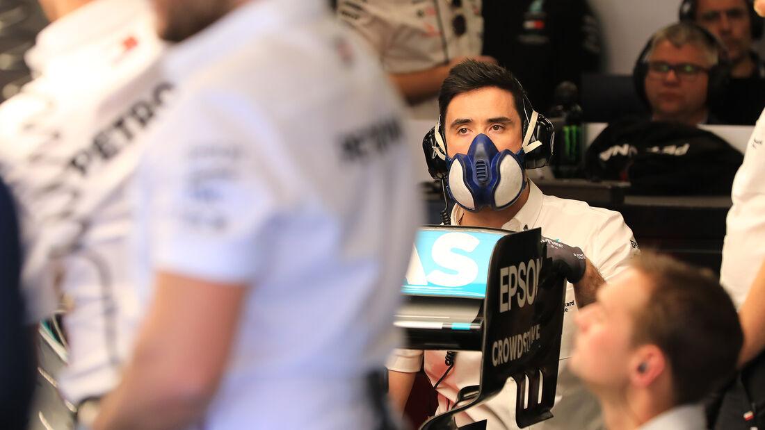 Mercedes - Mechaniker - Formel 1