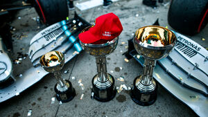 Mercedes Meisterfeier - GP Japan 2019