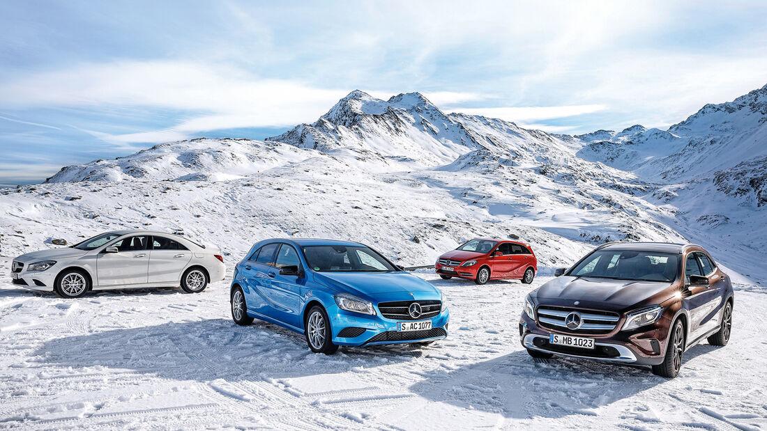 Mercedes-Modelle, Allradantrieb