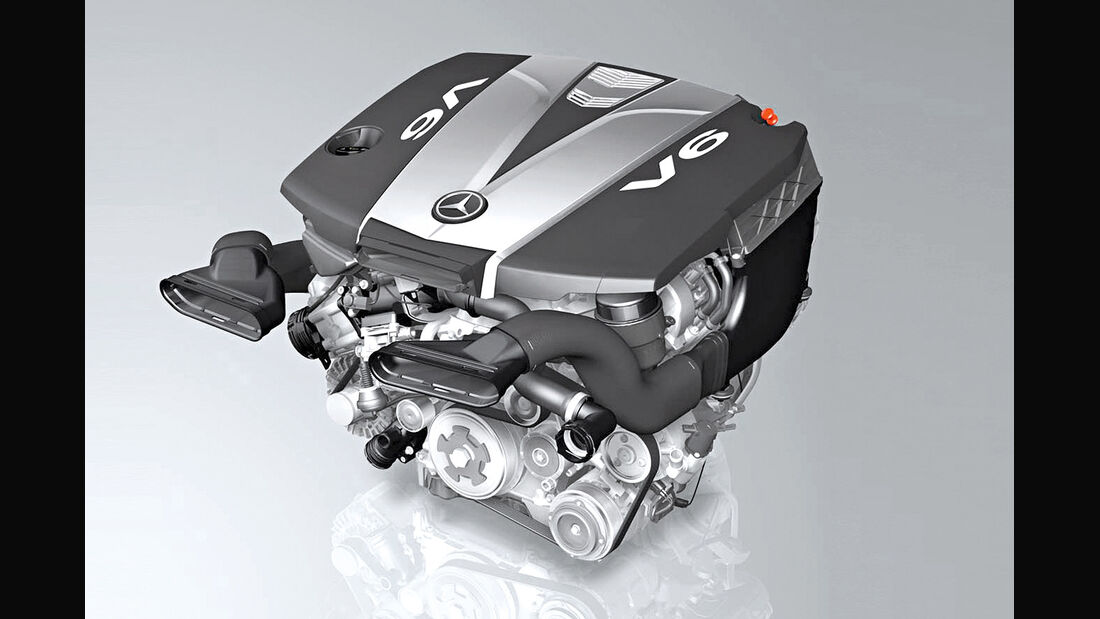 Mercedes, Motor