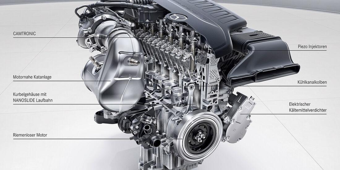 Mercedes Motoren Zukunft 2017