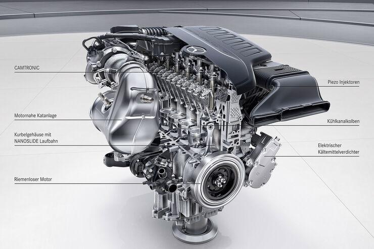 Neue Mercedes-Motoren für 2017: Reihensechser mit über 400 PS - auto ...