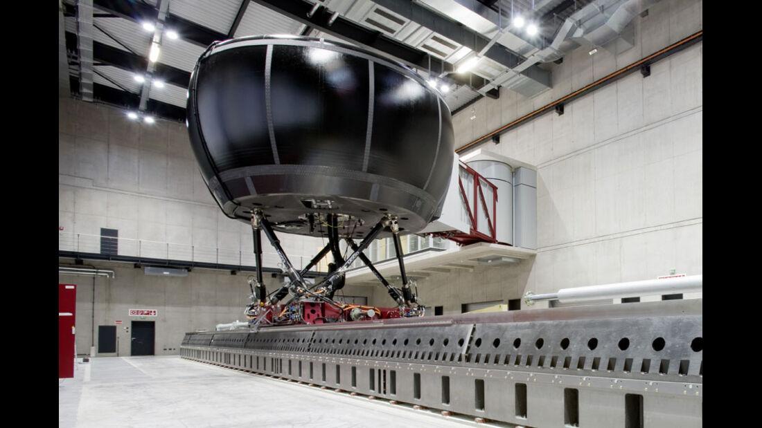 Mercedes Moving-base Simulator