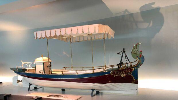 Mercedes Museum Daimler-Schiff Marie