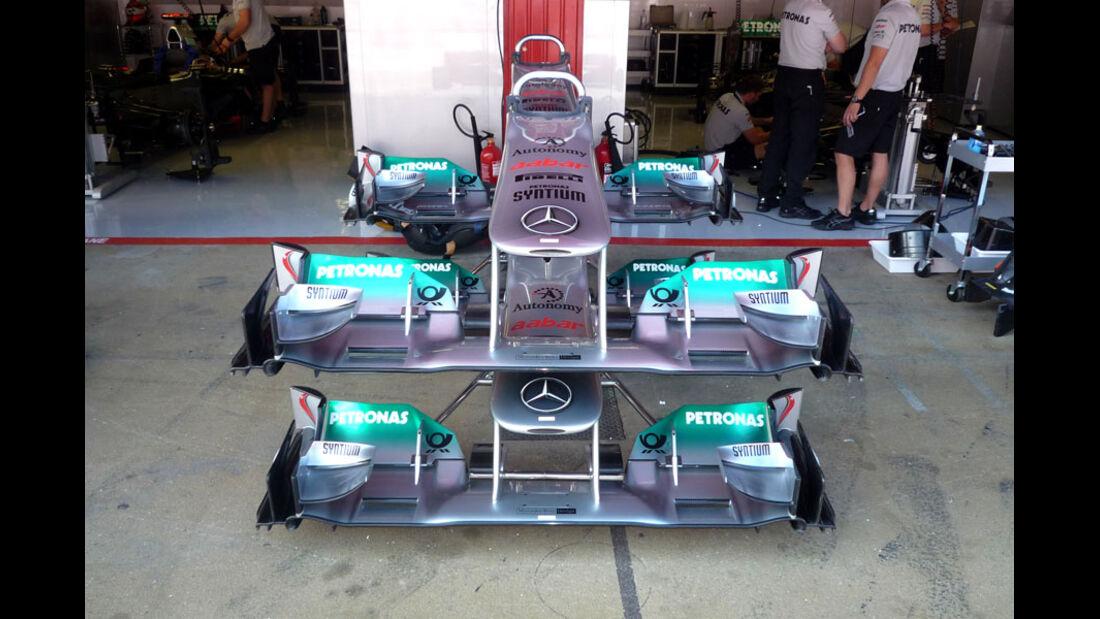 Mercedes-Nase