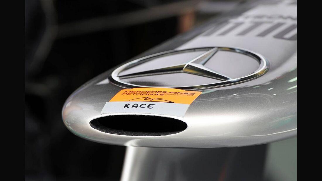 Mercedes Nase - Formel 1 - GP Bahrain - 21. April 2012