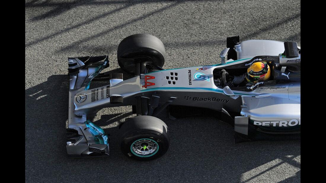 Mercedes - Nase - Formel 1 - Jerez-Test - 2014