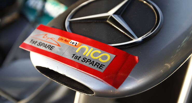 Mercedes Nase GP Australien 2012
