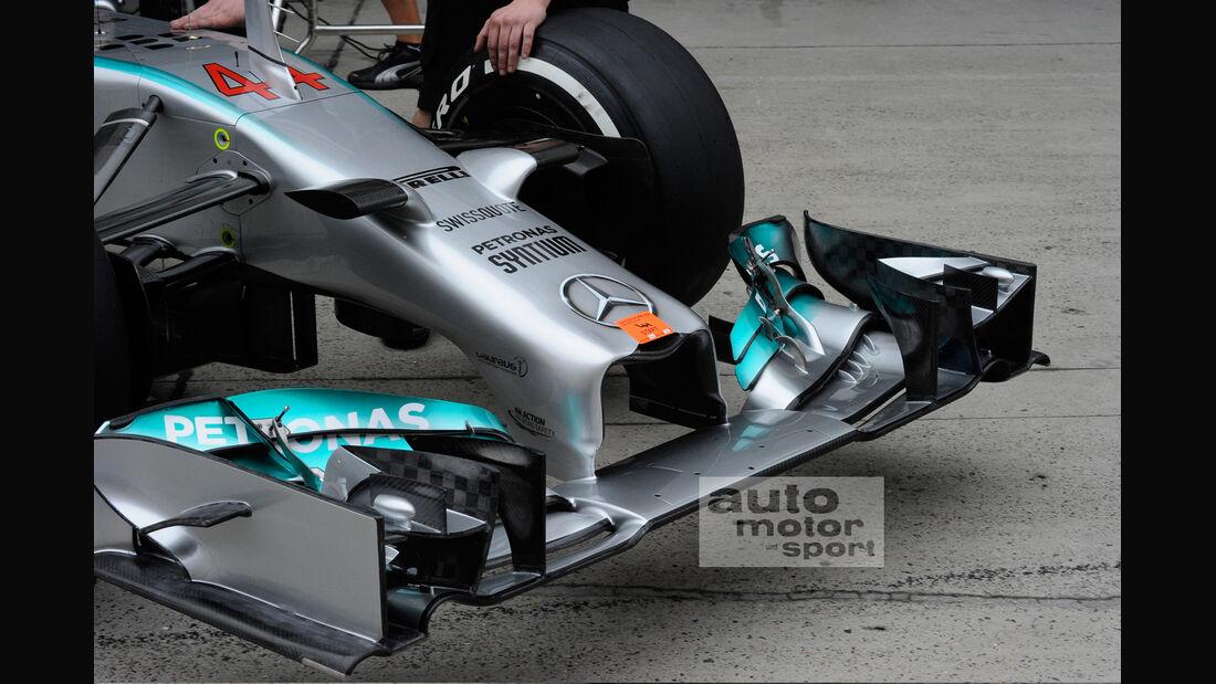 Mercedes Nase - GP China 2014