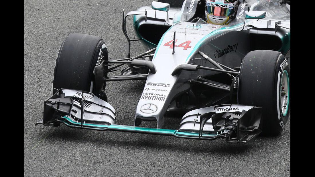 Mercedes - Nasenkamera - Jerez - 2015