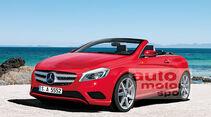 Mercedes Neuheiten, A-Klasse Cabrio