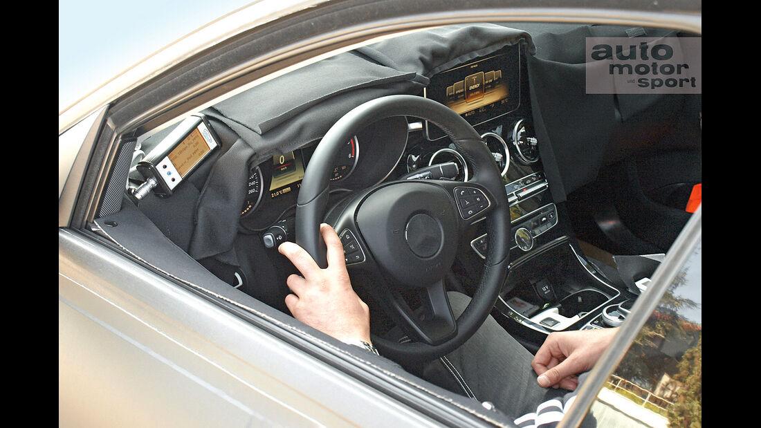 Mercedes-Neuheiten, C-Klasse, Cokpit