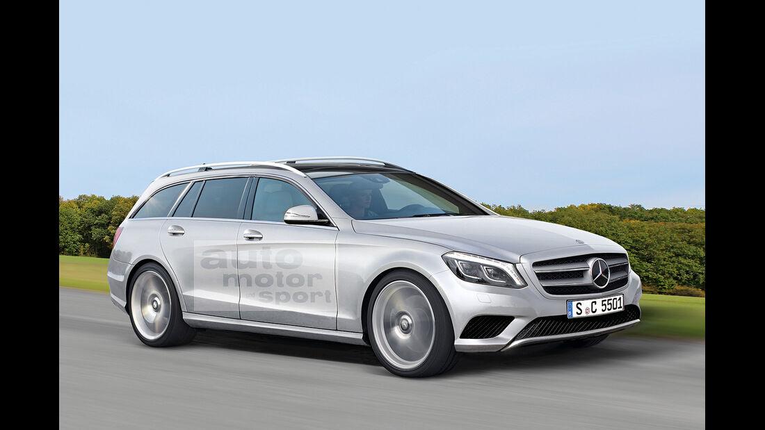 Mercedes-Neuheiten, C-Klasse, T-Modell