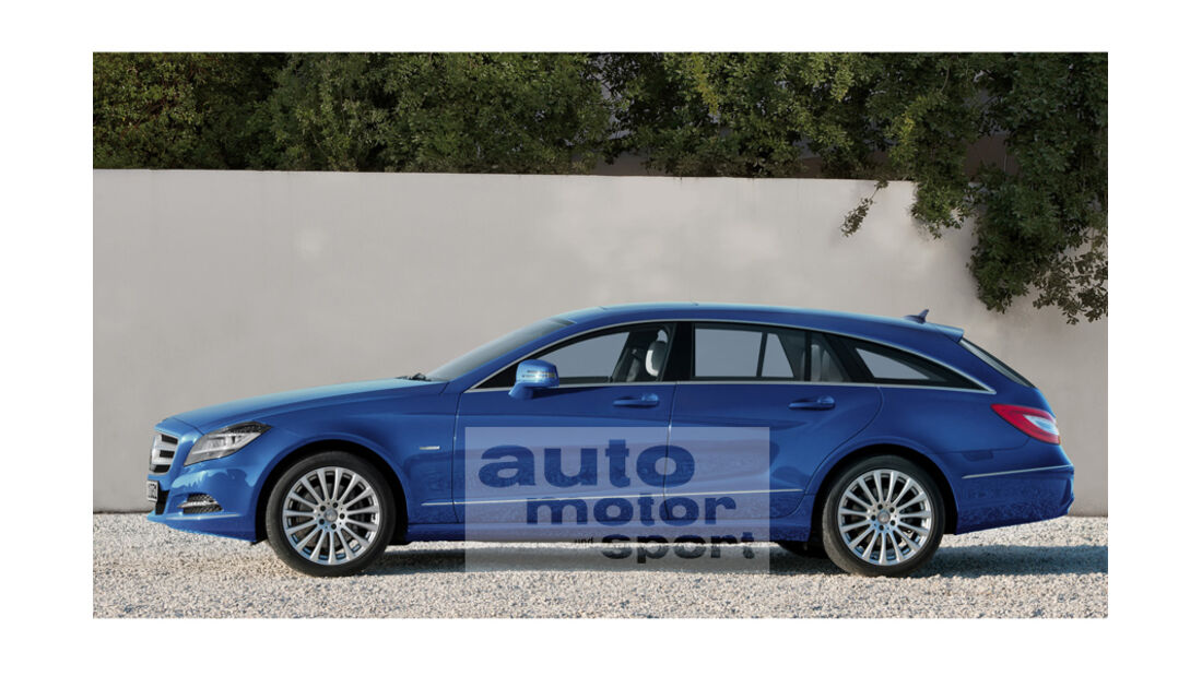 Mercedes Neuheiten, CLS Shooting Brake