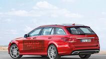 Mercedes-Neuheiten, E-Klasse, T-Modell