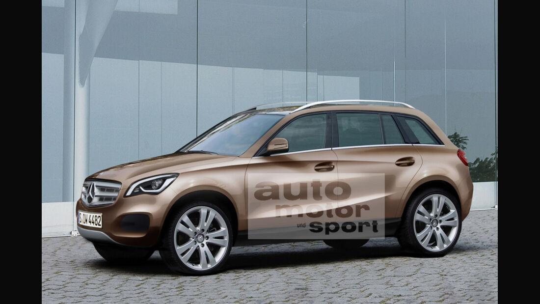 Mercedes Neuheiten, GLC-Klasse
