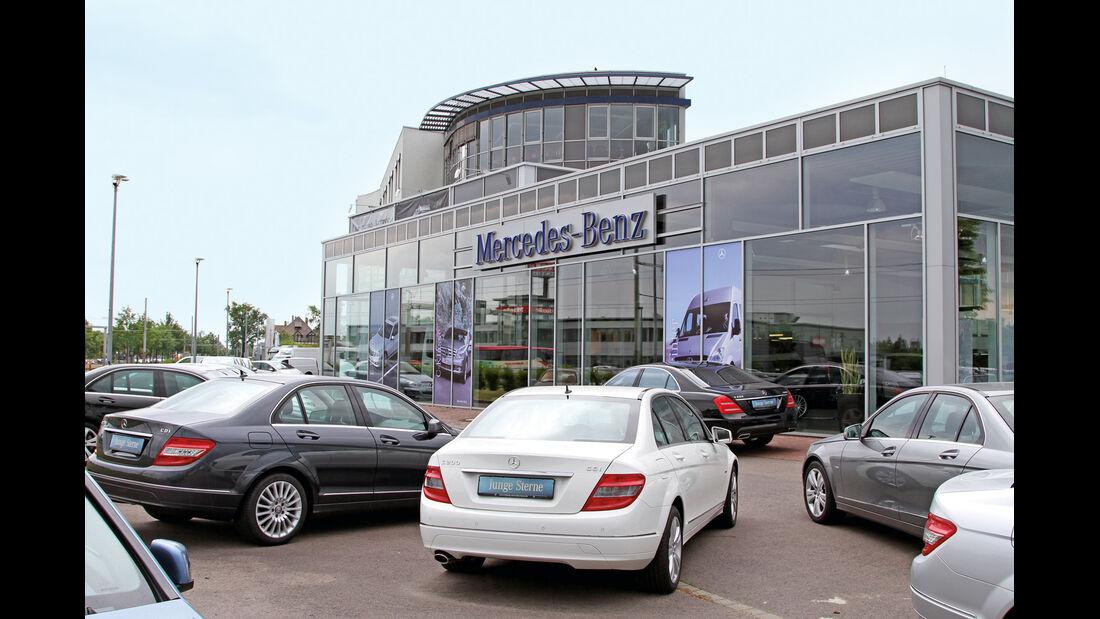 Mercedes-Niederlassung Leipzig