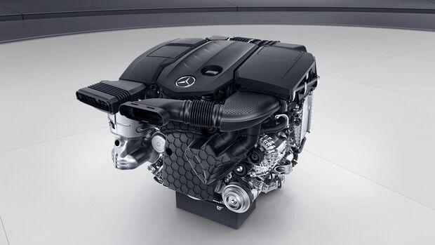 Mercedes OM 654 Dieselmotor