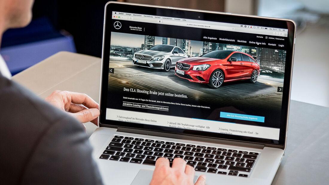 Mercedes Online-Kauf