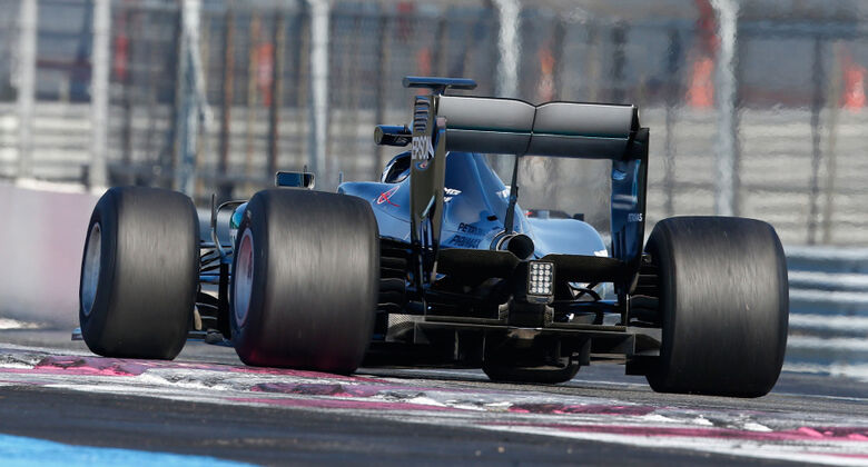 Hamilton und Rosberg in Barcelona