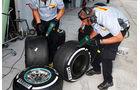 Mercedes - Pirelli-Reifen - Formel 1 - GP Malaysia - 28. März 2015