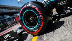 Mercedes - Pirelli-Reifen - GP Österreich 2019
