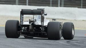 Mercedes - Pirelli Reifentest Barcelona 2016