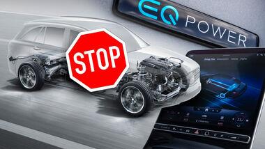 Mercedes Plug-in-Hybrid PHEV Entwicklung Ende