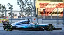 Mercedes - Profil - F1 - Barcelona Test 2017