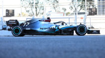 Mercedes - Profil - F1-Test - Barcelona - 2020