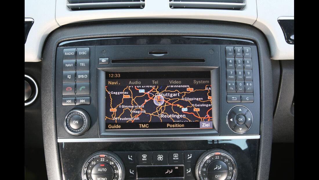 Mercedes R 350 CDI 4Matic, Navigationssystem