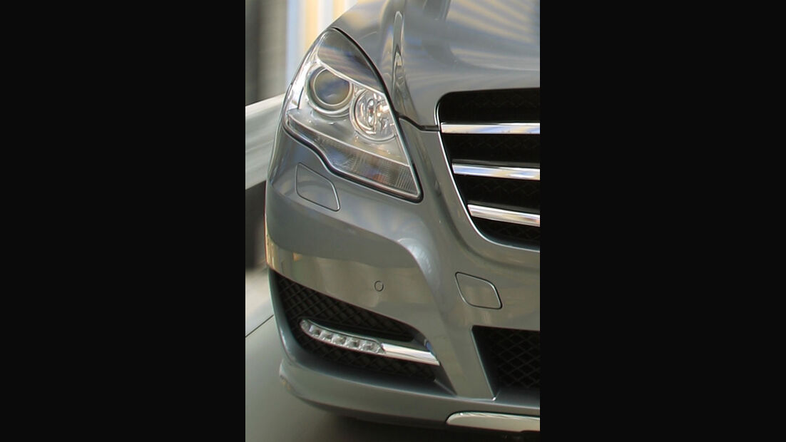 Mercedes R 350 CDI 4Matic, Scheinwerfer