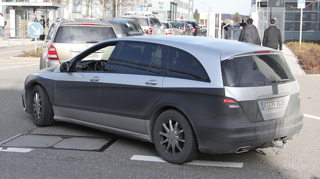 Mercedes R-Klasse Facelift