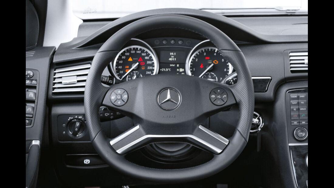 Mercedes R-Klasse Kaufberatung, AMG-Paket, Sportlenkrad