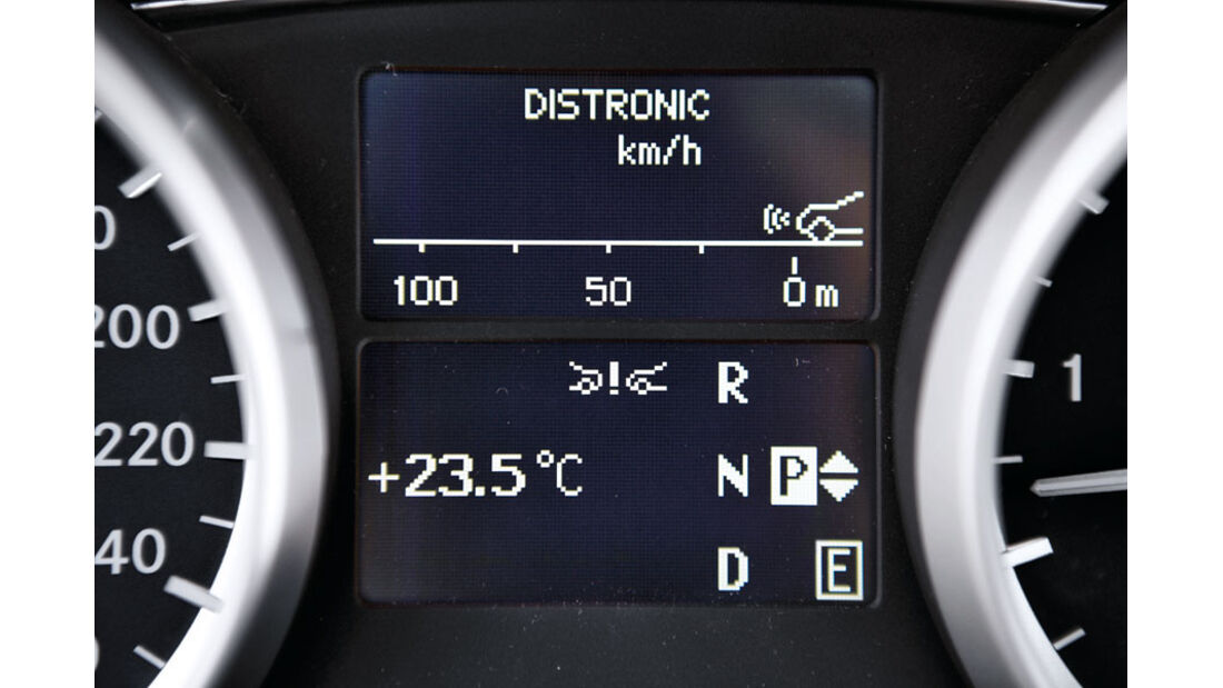 Mercedes R-Klasse Kaufberatung, Abstandsregeltempomat
