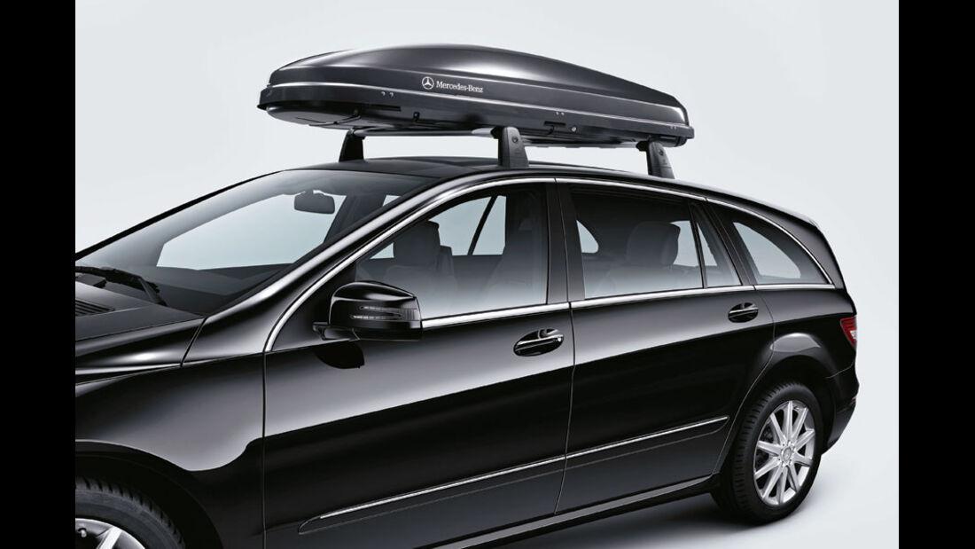 Mercedes R-Klasse Kaufberatung, Dachbox
