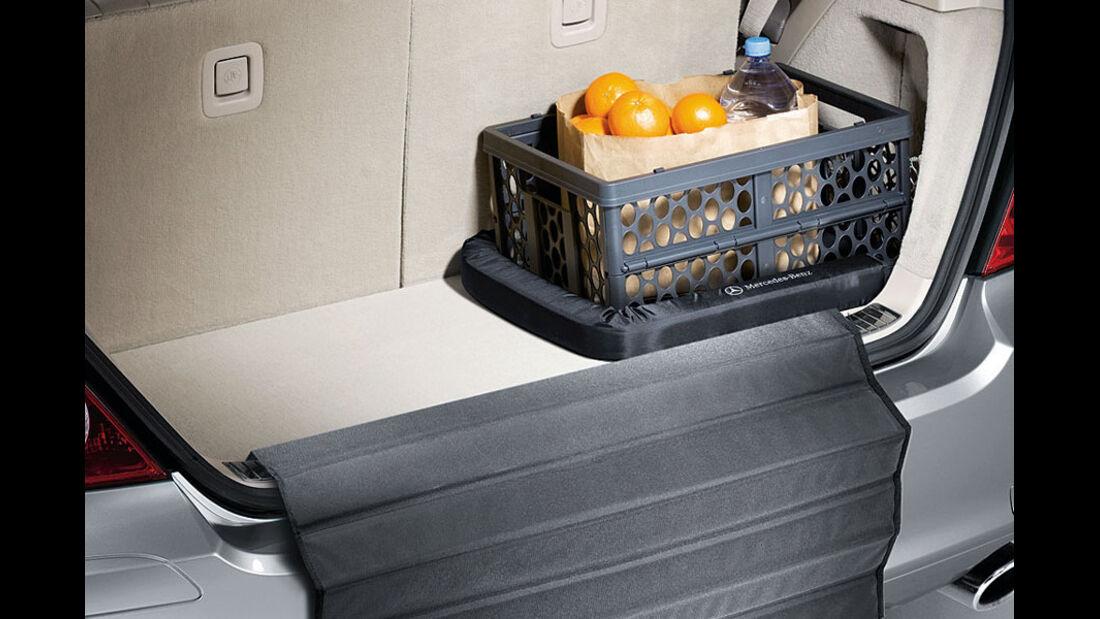 Mercedes R-Klasse Kaufberatung, Einkaufsbox