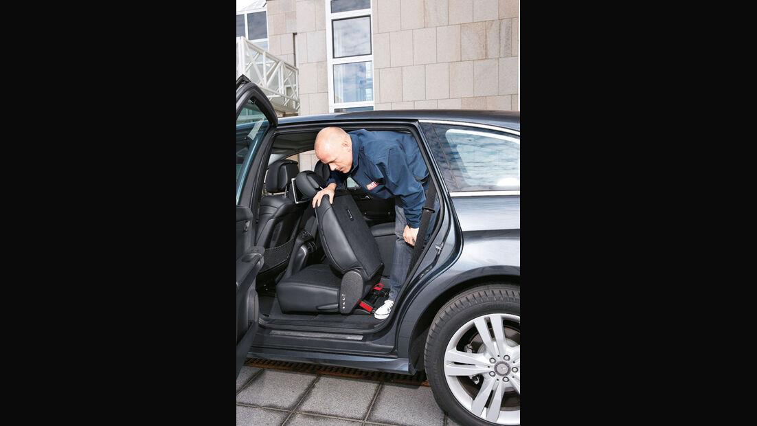 Mercedes R-Klasse Kaufberatung, Einstieg