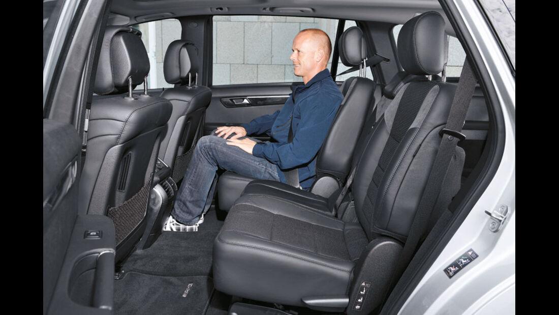 Mercedes R-Klasse Kaufberatung, Fond, Rückbank