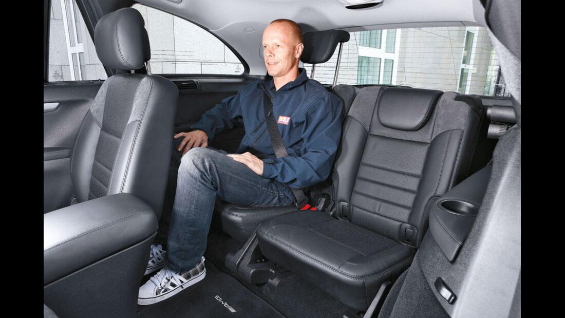 Mercedes R-Klasse Kaufberatung, Fond, dritte Sitzreihe