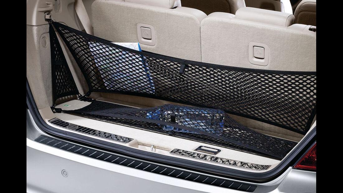 Mercedes R-Klasse Kaufberatung, Gepäcknetz